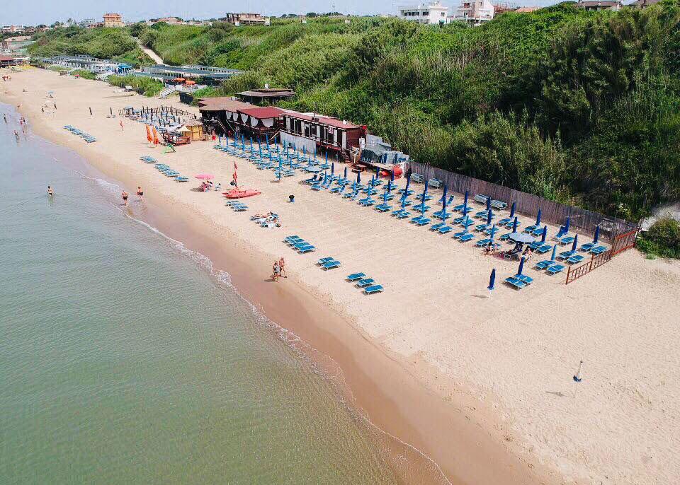 beach near rome anzio